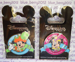 DLP-Pin-Trading-Day-Pirates-Princess-MICKEY-MINNIE-Disney-land-Paris-PTD-ptn