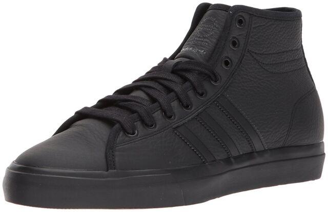 adidas Originals Men's Matchcourt High RX Shoes 12 D(m) US Blackblackblack 001