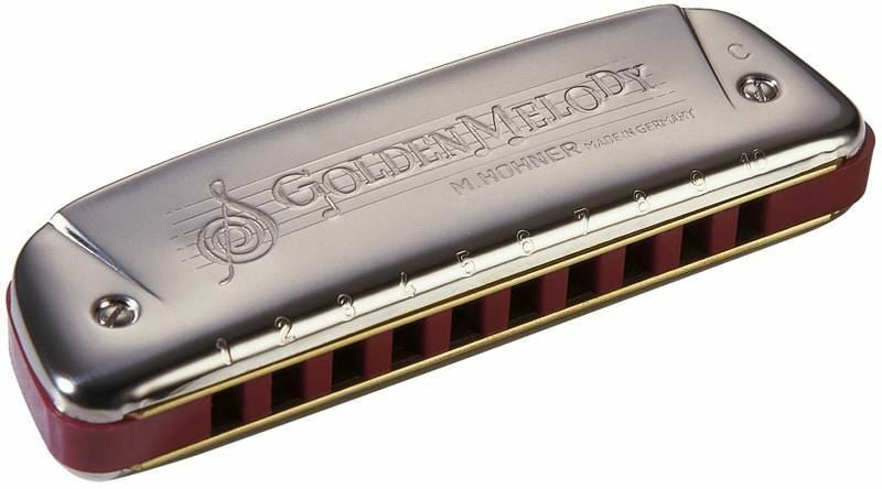Hohner M542116X 542 20 Bb GoldEN MELODY