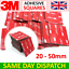 thumbnail 1 - 3M™ Double Sided Sticky Pads - Adhesive Tape Dash Cam/GoPro Sticker Mounts
