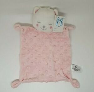 01-DOUDOU-PLAT-OURS-ROSE-SIMBA-TOYS-BENELUX-PETITES-BOULES-RELIEF-NEUF