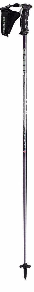 NEW Gabel SLX Wind Tec Silber Ski Poles 115 46, Made in