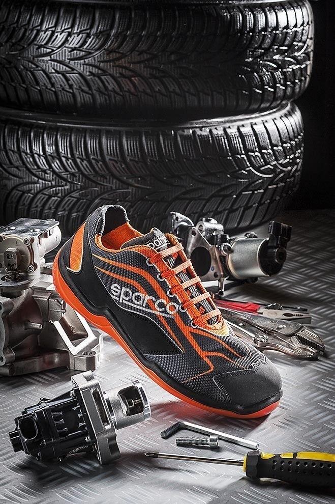 Sicherheitsschuhe niedrig Arbeit Sparco touring niedrig Sicherheitsschuhe s1 Mechaniker Schuhe Mechanisch 608c6f