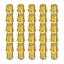 F Verbinder Sat vergoldet 25x Kupplung Buchse Verbindung Stecker Doppel Adapter