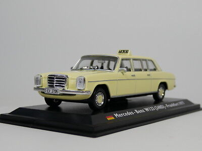 1//43 LEO Alloy TAXI Car Model Mercedes-Benz W123 240D -Frankfurt 1977 cars Toys