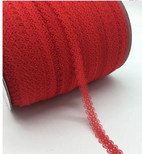 4-9 Meter Spitze Spitzenband lace Spitzenborte Zierband nicht elastisch ab 0,45€