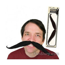 Giant Fake Mustache- Fun Prop-Jumbo Mustache-Halloween-Huge Stache