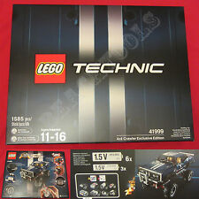 New LEGO TECHNIC Limited Edition 4x4 Crawler Exclusive Edition Blue Set 41999