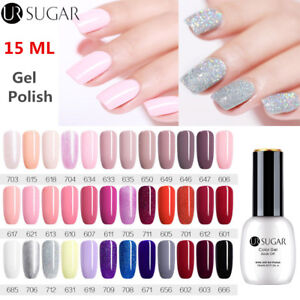 UR-SUGAR-15ml-Colors-Vernis-Gel-UV-Polish-Soak-Off-UV-Gel-Led-Top-Coat-DIY
