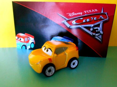 MATTEL FBG74 2017 CRUZ RAMIREZ MINI RACERS CARS 3 DISNEY PIXAR