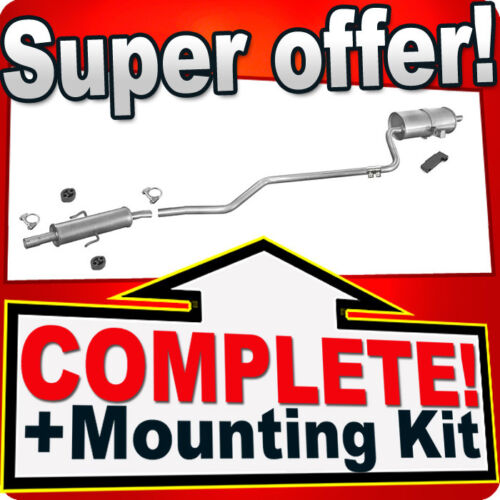 Toyota Corolla E11 1.4 1.6 97//110HP 99-02 Facelift Silencer Exhaust System M85