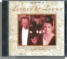 The Music of Lerner & Loewe - New 1994, 10 Song Easy Listening Instrumentals CD!