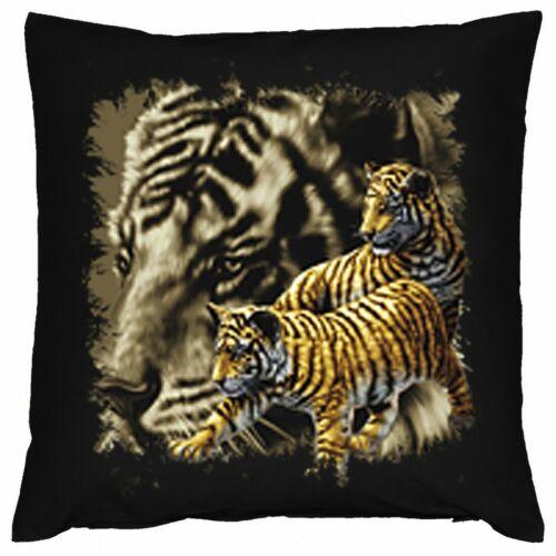Bezug Kissen Geschenk Dschungel Kissenbezug Sofakissen 40x40 Tiger Motiv
