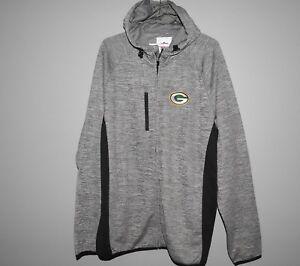 NFL-Green-Bay-Packers-Full-Zip-Hoodie-New-Mens-Sizes-MSRP-80