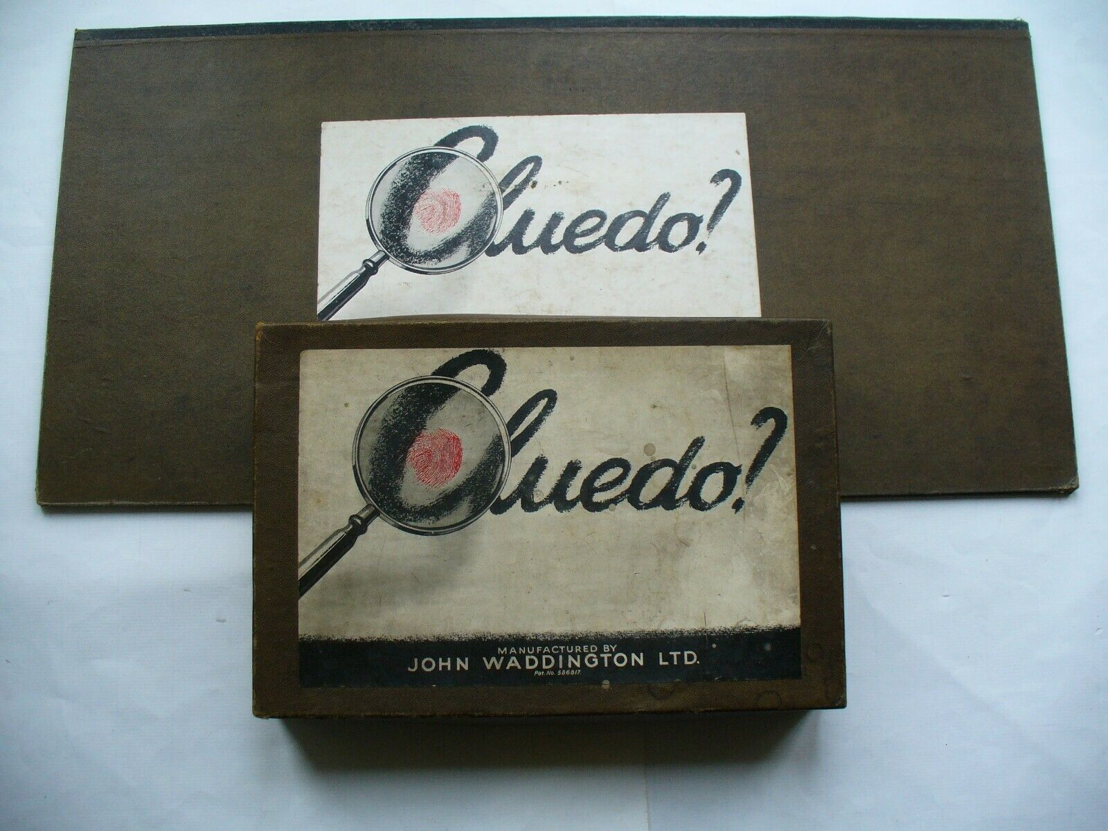 Vintage Cluedo First Edition. Good Condition 100% Complete 1949 1.0 Edition