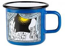 Moomin Enamel Mug 0,37 L Winter in Moomin Valley Muurla