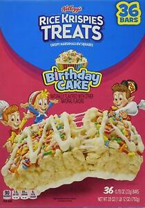 Astonishing Rice Krispie Treat Birthday Cake Limited Time Offer 36 Bars 790 Funny Birthday Cards Online Sheoxdamsfinfo