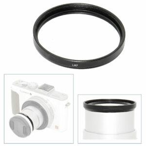 Filter Adapter for Panasonic Lumix DMC-LX7 37mm Electronics Camera ...