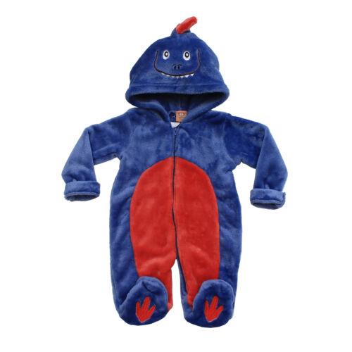 Infant Newborn Baby Girls Boys Animal Costume Fleece Jumpsuit Romper All In One