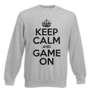 Gamer maglione Admin gioco Mantieni e Pc Nerd Gaming Geek calma il la Fun pullover in YqYrP