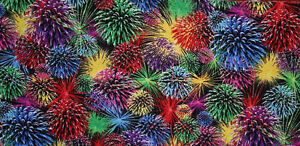 Bright-Fireworks-4th-of-July-Red-Green-Blue-on-Black-Cotton-Quilting-Fabric-t3-3