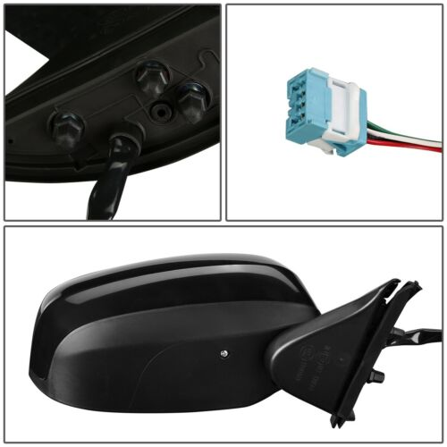 FOR 09-14 HONDA FIT OE STYLE POWERED PASSENGER RIGHT SIDE DOOR MIRROR ASSEMBLY