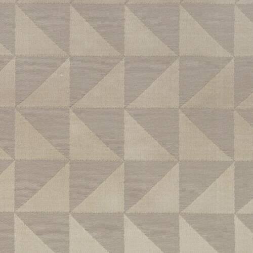 CLARKE AND CLARKE THAIL SAND MATALIC FABRIC 137CM WIDE BY 115CM LONG REMNANT