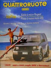 Quattroruote 430 1991 TVR 33. Come va la Mitsubishi Pajero. Nuova Alfa [Q.12]