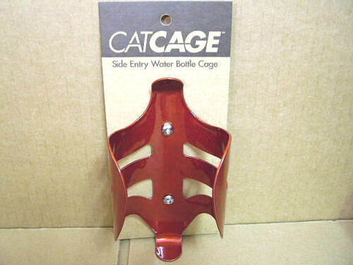 New-Old-Stock Catamount CatCage...Red Aluminum Water Bottle Cage
