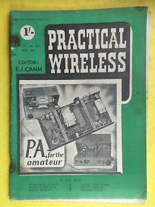 Practical-Kabellos-Magazin-May-1951-P-A-Fuer-The-Amateur-Superhet