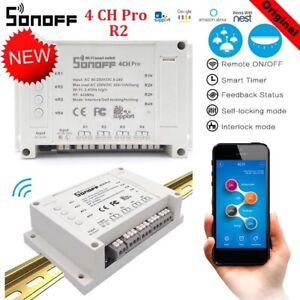 Sonoff-4-Channels-4CH-pro-R2-Home-Automation-Wifi-Switch-Alexia-Google-Smart