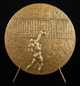 Medal-Sport-Beach-Volleyball-Female-Woman-Beach-Volleyball-68-mm-1976-Medal