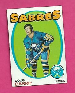 1971-72-TOPPS-22-SABRES-DOUG-BARRIE-ROOKIE-NRMT-MT-CARD-INV-C5627