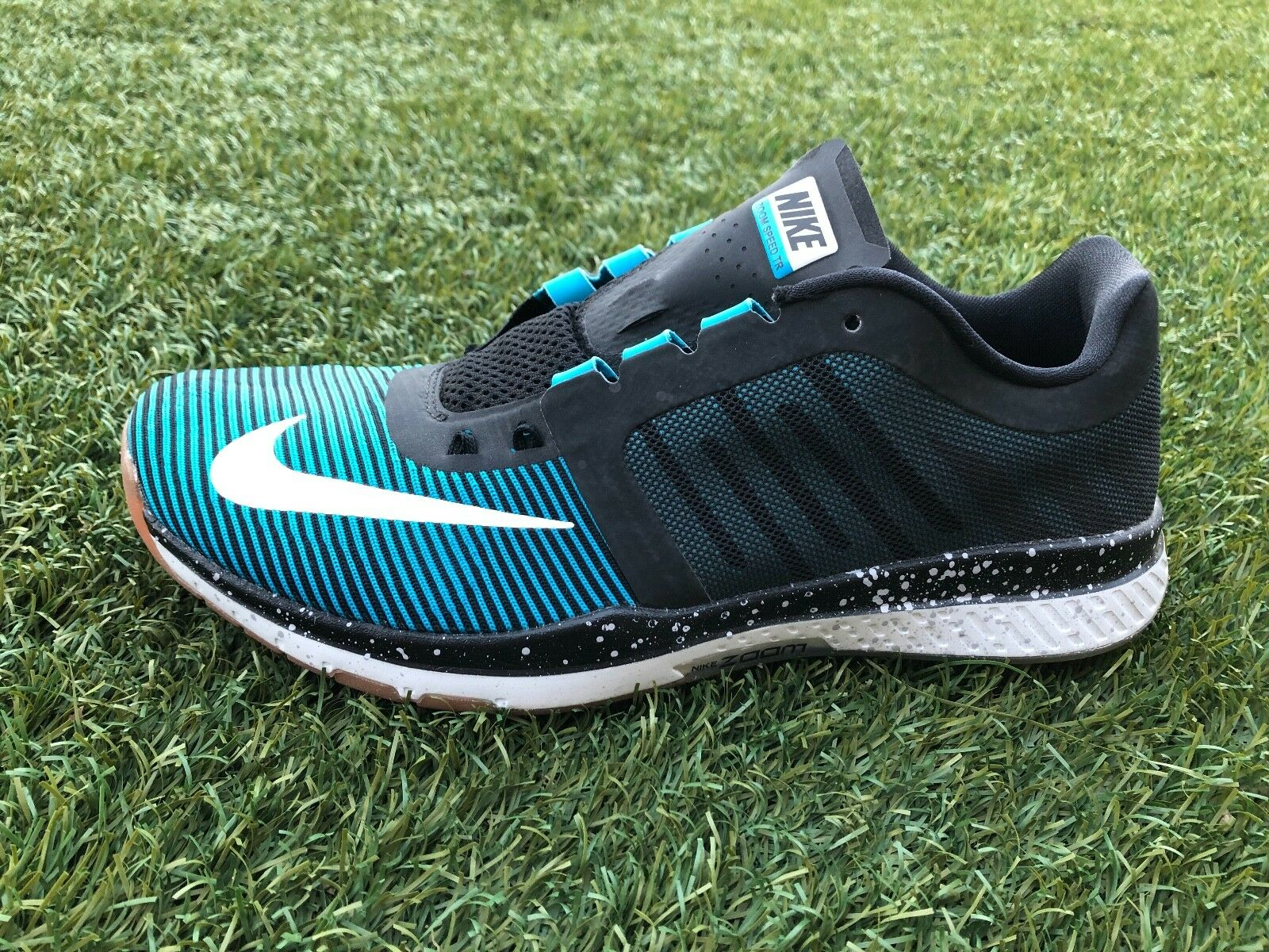 f382482882c196 ... Men s Nike Zoom Speed TR3 TRAINING shoes bluee bluee bluee and Black  804401 414 Size 10.5 ...