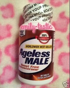 Best Male Testosterone Booster 2020 Ageless Male Testosterone Booster 60 Tablets Exp: JAN 2020 New