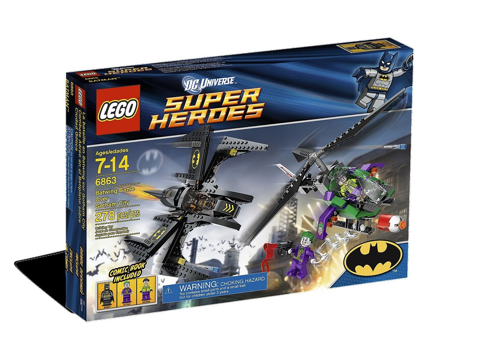 Lego DC Super Heroes 6863 Batman BATWING BATTLE OVER GOTHAM CITY XMAS Present