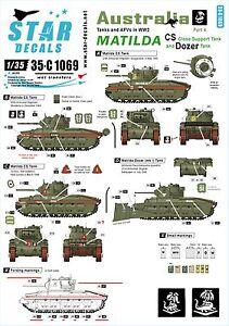 Star-Decals-1-35-Australian-Matilda-Matilda-Close-Support-Dozer-tank-35c1069
