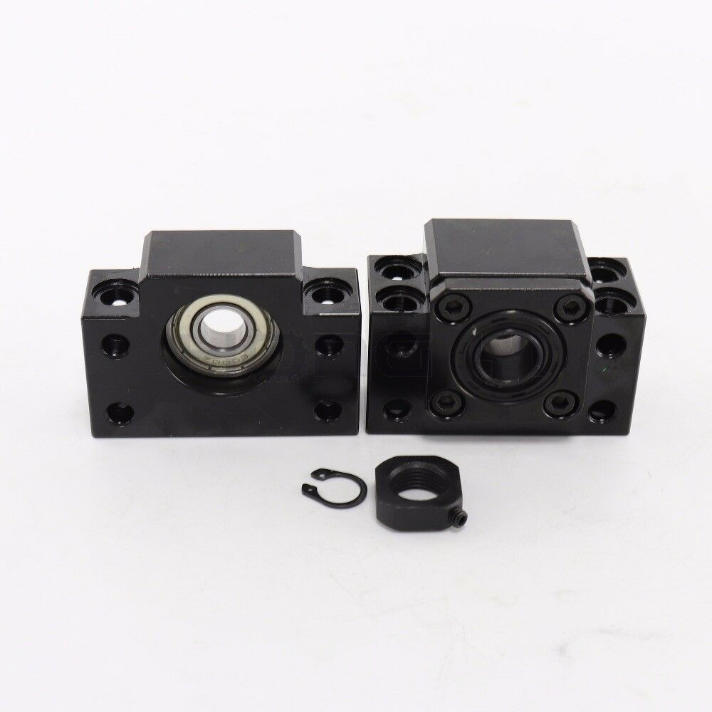 Rolled Ballscrew SFU1204/1605/2005/2505/3205&Ballnut&End Support CNC Machine Kit 9