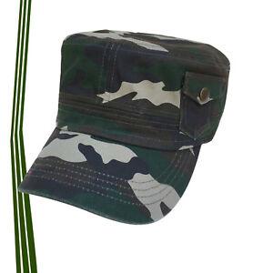 063e530f8fa Jah Army Castro Cadet Military Style Cap 100% Cotton Gorra 1SZ Fit ...