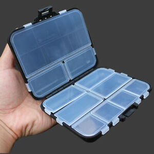 16 Compartment Fishing Tackle Box Waterproof Plastic Fishing Lure Bait Accessory