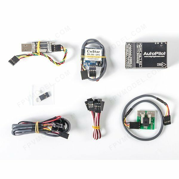 MFD MyFlyDream Autopilot OSD volo Stablizer 2014 with 100A Current Sensor