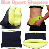 Black Fat Burning Body Shaper Shapewear Waist Trainer Cincher Corset Tummy Belt