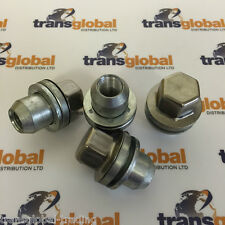 Range Rover L322 (06 On) Stainless Capped Alloy Wheel Nut x4 - Bearmach Parts