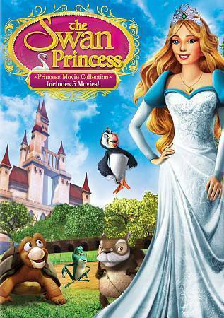 the swan princess princess movie collection dvd 2014 5 disc set