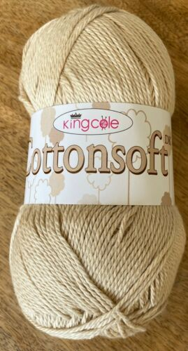 KING COLE COTTONSOFT  DK Super Soft Quality 100g Baby or Summer Knits /& Crochet