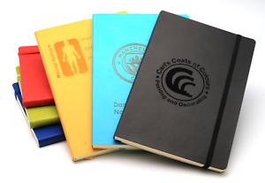 Personalisiertes Notizbuch Tagebuch Weicher Einband Stilvolles Design Liniert A5