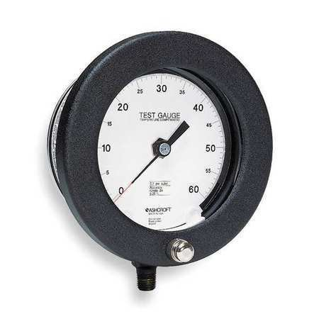 ASHCROFT 45-1082AS 02L 300 PSI Pressure Gauge,0 to 300 psi,4-1//2In