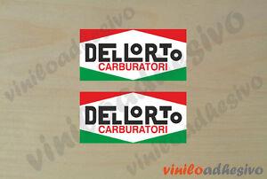 PEGATINA STICKER VINILO Dellorto carburatori autocollant aufkleber adesivi