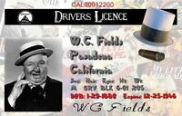 Wc Fields Drivers License. 2 1/2 X 4 Fridge Magnet...free Shipping