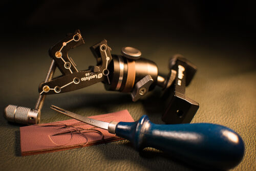 Professional blue handle Leathercraft Edge Bevelers Leather D2 Steel Edger Tools